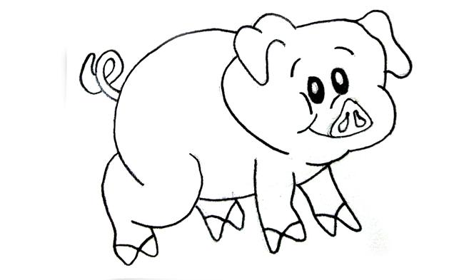 dibujos a lápiz fáciles para colorear