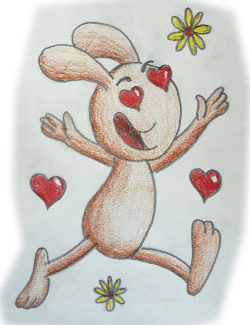 Dibujos de amor con humor  Dibujos fciles de hacer