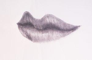 la forma de hacer labios