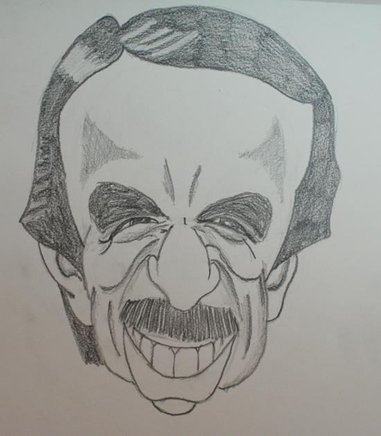 caricaturas de políticos