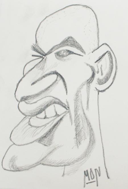 zidane caricaturizado