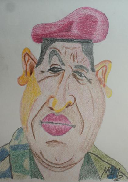caricaturas a lápiz de famosos