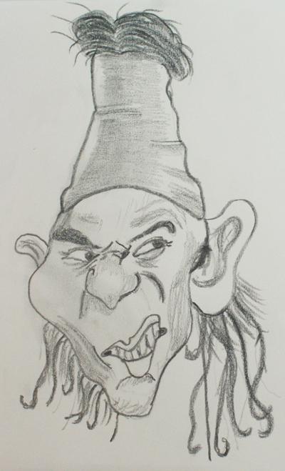 Caricaturas de deportistas  Hacer caricaturas fciles