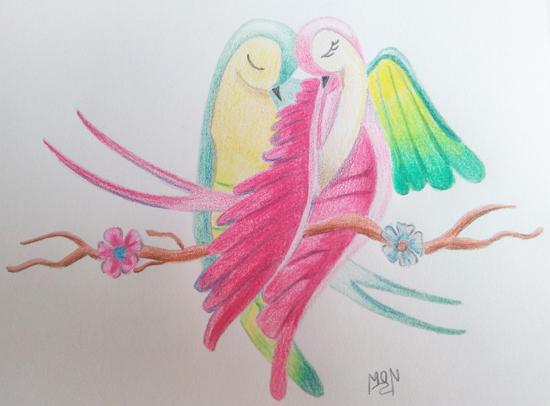 Imgenes de amor para dibujar  Dibujos bonitos para t