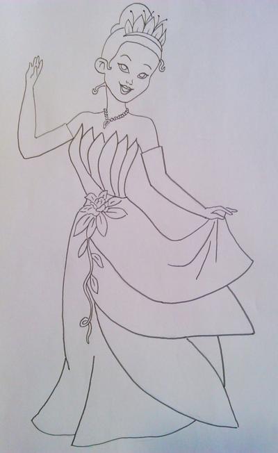 todas las princesas para colorear