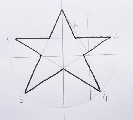 formas de dibujo estrella