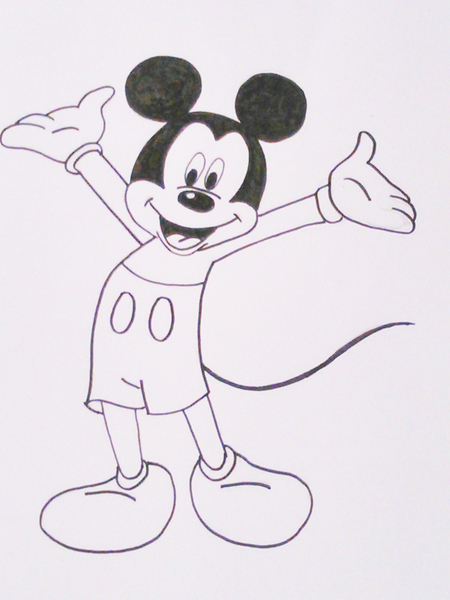 Dibujos para colorear de Disney  Dibujos fciles de hacer