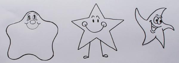 dibujos animados de estrellas