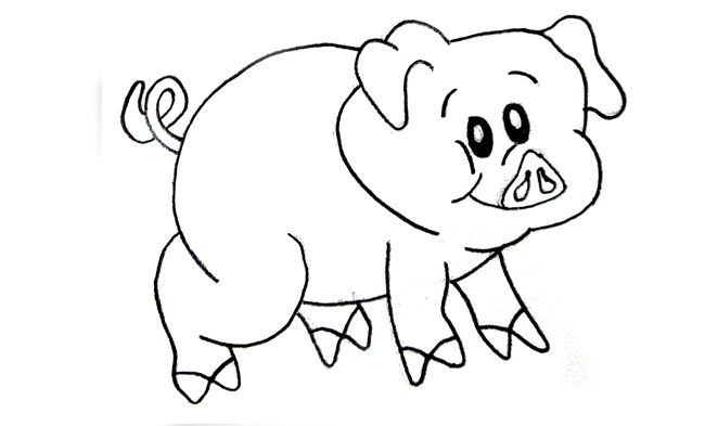 Dibujos A Lápiz Fáciles Motivos Infantiles Sencillos