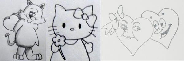 dibujos faciles