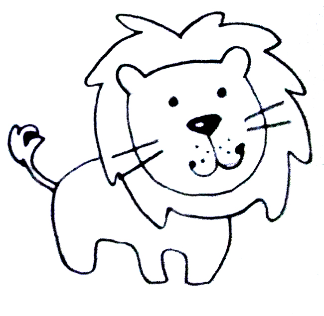 aprender a dibujar un leon