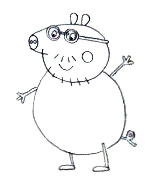 Peppa Pig Y Sus Amigos Aprender A Dibujarlos A Lapiz