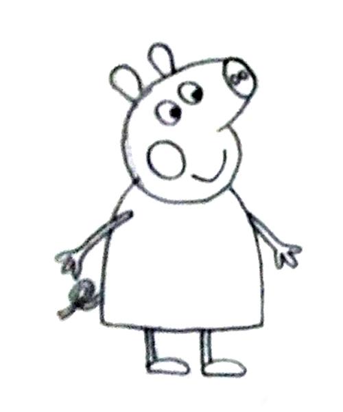 el hermano de peppa pig