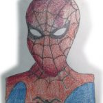 dibujo de spiderman