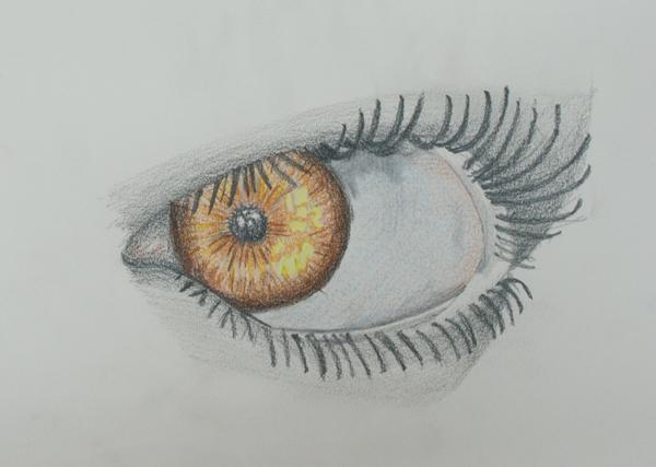 aprender a dibujar un ojo