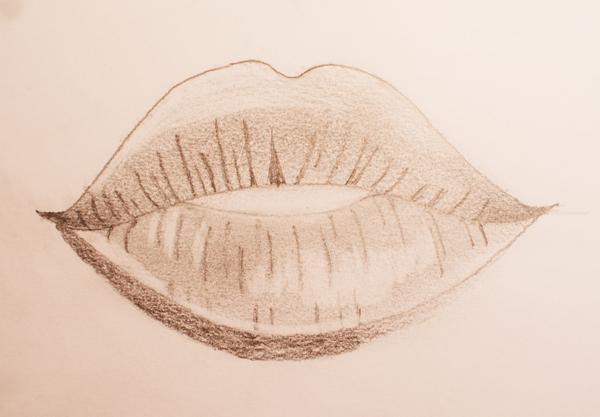 Aprender A Dibujar Labios Dibujos Faciles De Hacer
