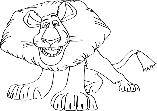 leon de madagascar