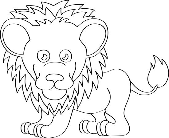 leon para niños