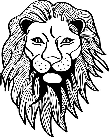 leon para tatuar
