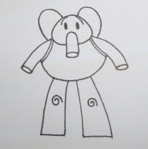 dibujos fáciles de hacer de eli