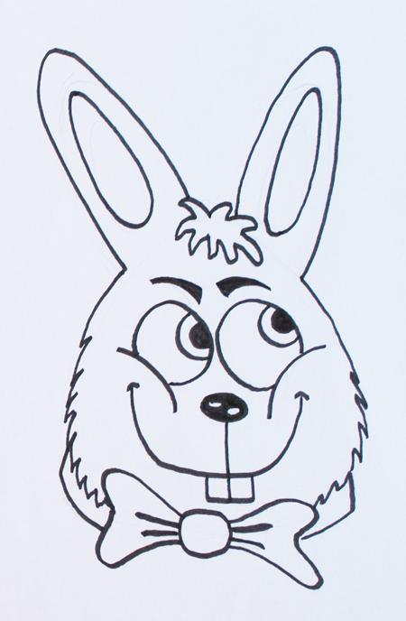 conejos para pintar