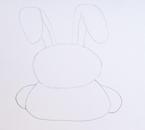 conejos dibujados a lápiz