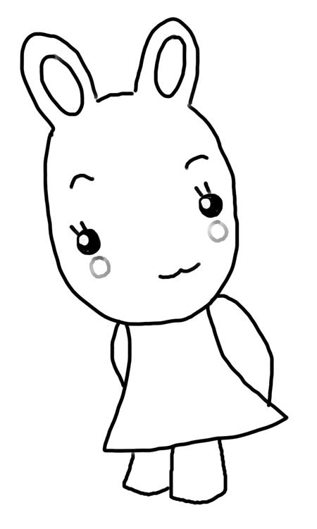 dibujos de conejos animados