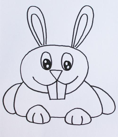 dibujo de conejo