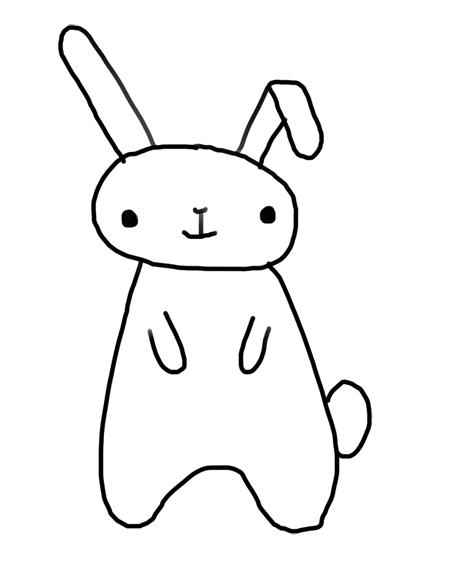 dibujos de conejos para niños