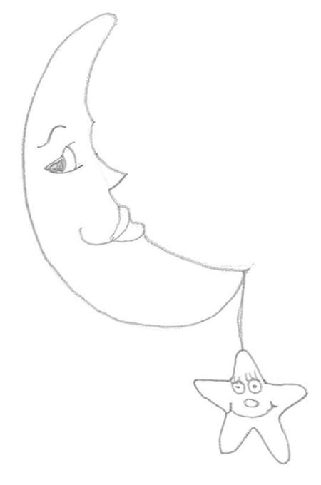 luna con estrella