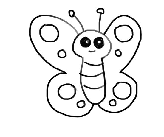 dibujos lindos de mariposas