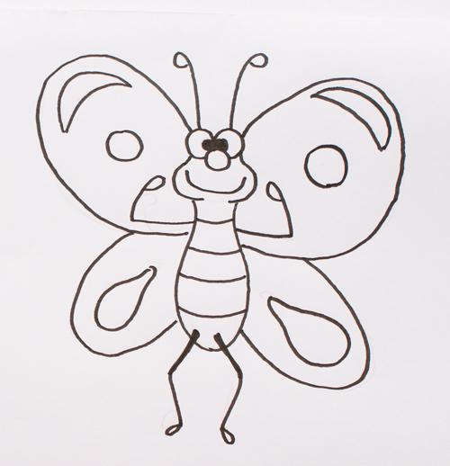 Dibujos De Mariposas Cómo Dibujar Una Mariposa
