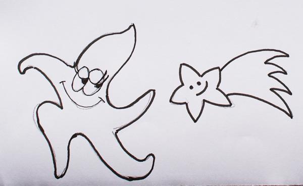 estrellas dibujos para imprimir