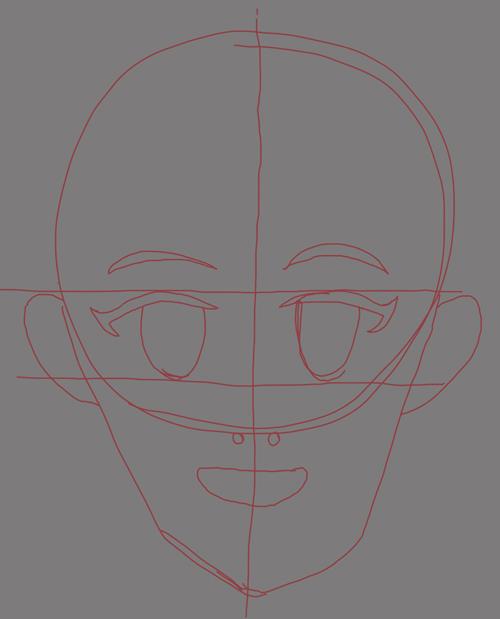 como dibujar personas manga