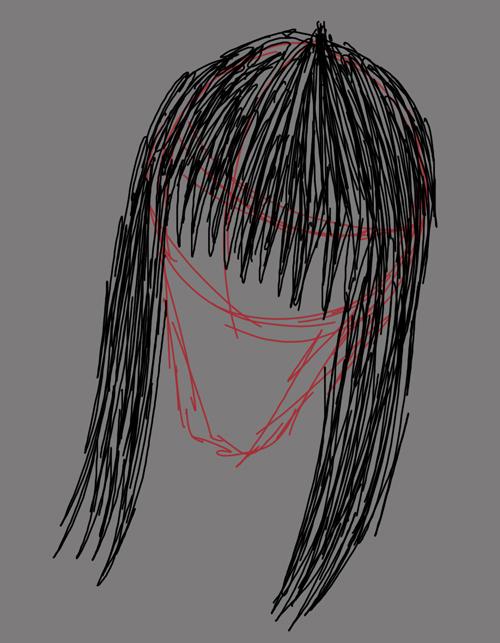 mujeres anime para dibujar