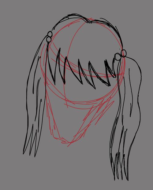 como dibujar caras anime
