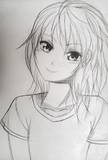 como dibujar anime basico