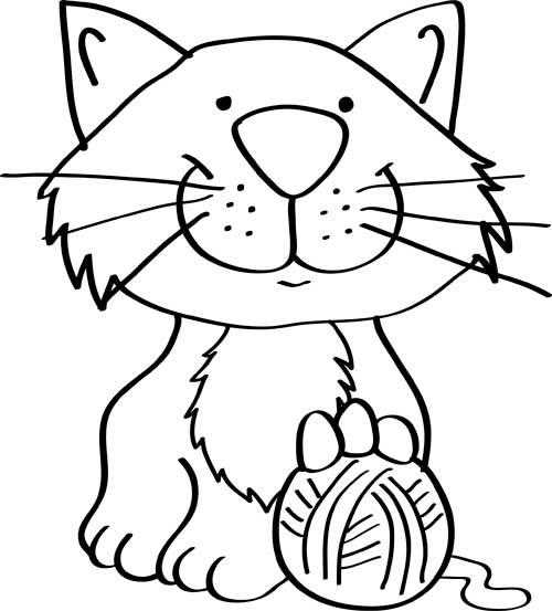 dibujos-de-gatos-faciles-para-niños