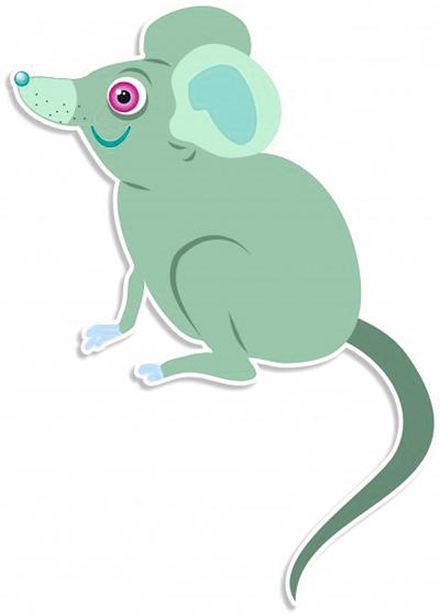 raton verde