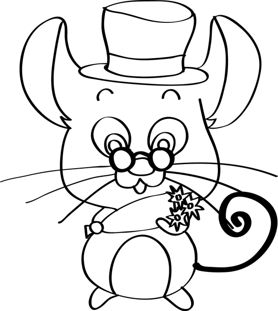 simpatico raton ingles