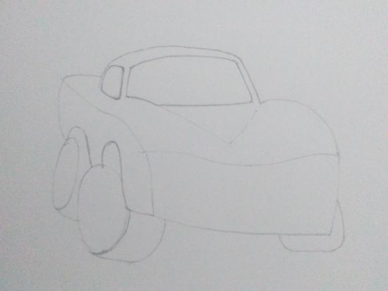 dibujos de coches para imprimir