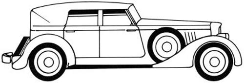 dibujar un coche