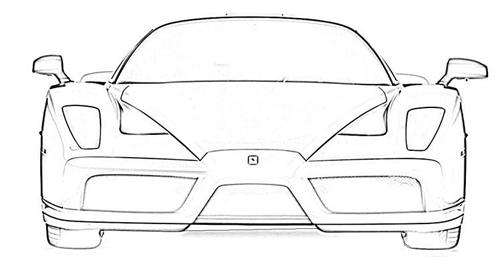dibujos de coches de rally