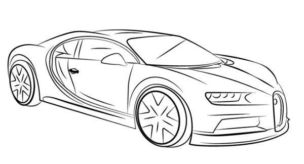 dibujos de coches