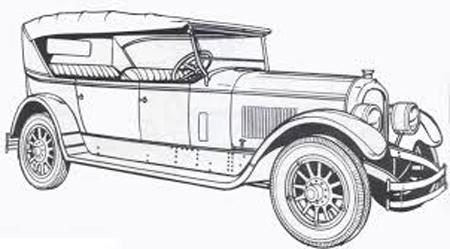 coche dibujo infantil