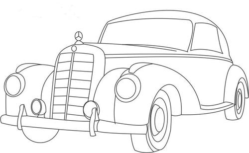 dibujos de colorear de coches
