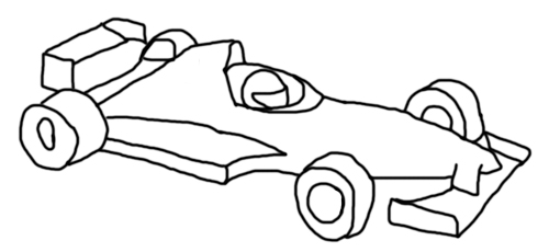 imagenes de dibujos de coches