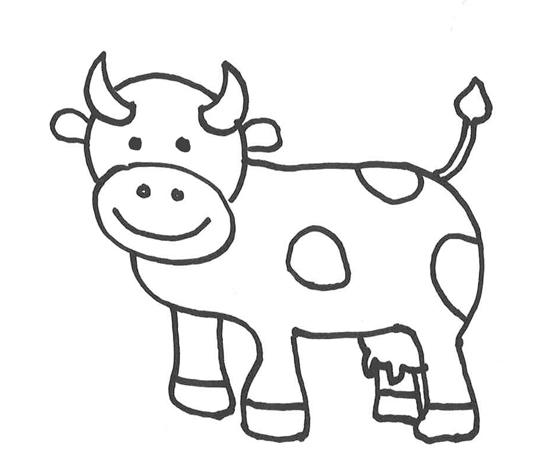 Dibujos De Vacas Cómo Hacer Una Vaca Dibujo A Lápiz