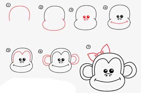 dibujar-un-mono