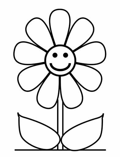 dibujo-simple-de-flor